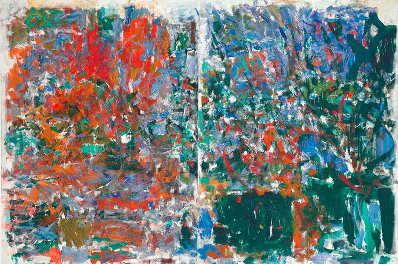Joan Mitchell, Aires Pour Marion
