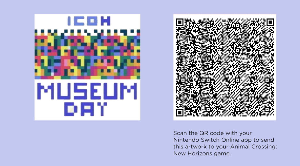 Museum Day Poster QR Code