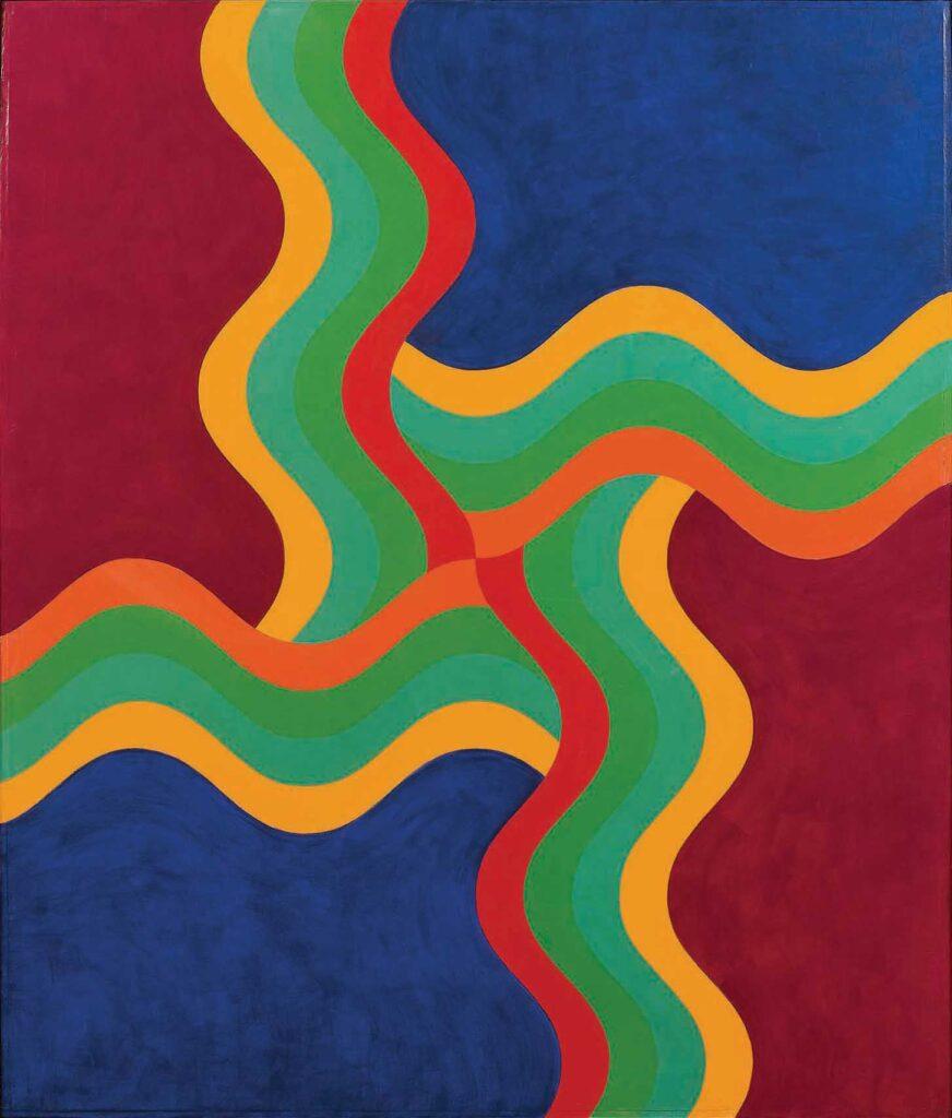 Mohamed Melehi (Morocco) Composition, 1970